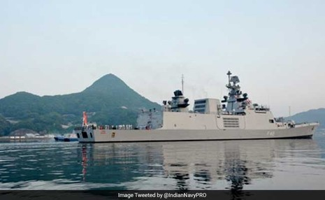 Ấn Độ, Mỹ, Nhật tập trận gần biển Đông - ảnh 2