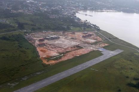 Căn cứ không quân trên quần đảo Natuna sắp được nâng cấp.