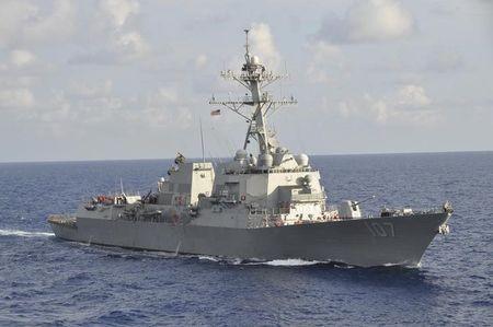Tàu khu trục USS Gravely của Mỹ vừa đối đầu với tàu Nga ở Địa Trung Hải.