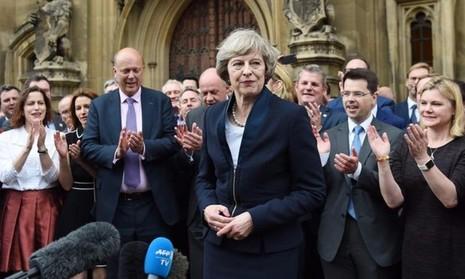 Bà Theresa May sẽ chính thức trở thành Thủ tướng Anh vào tối 13-7.
