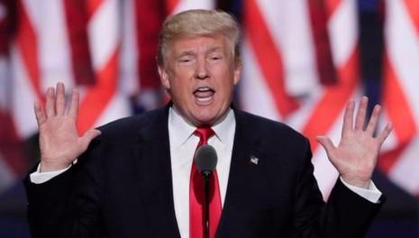 Ông Trump nhận đề cử tổng thống của đảng Cộng hòa.