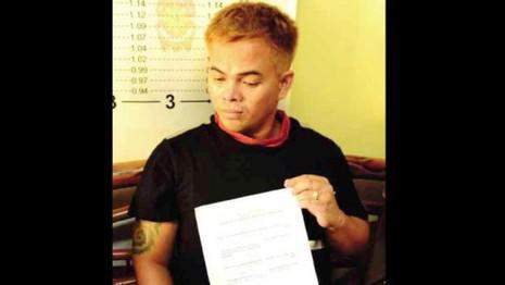 """Rolando """"Kerwin"""" Espinosa Jr., con trai một thị trưởng Philippines là trùm ma túy khét tiếng."""