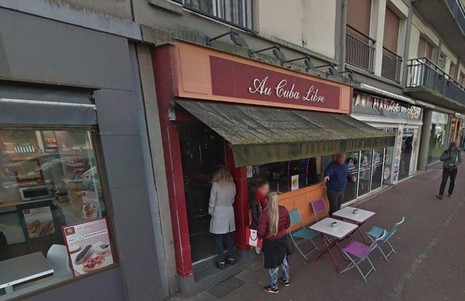 Quán bar Cuba Libre, nơi xảy ra vụ nổ.