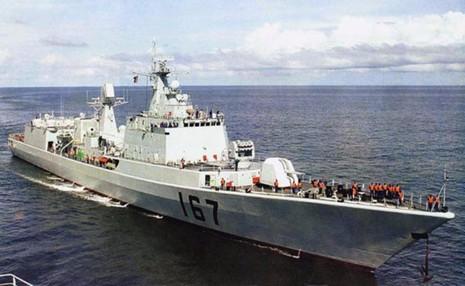 Tàu khu trục tên lửa Thâm Quyến vừa được trang bị thêm tên lửa siêu thanh.