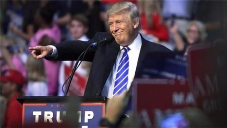 Ông Trump vận động tranh cử tại Fort Lauderdale (bang Florida, Mỹ) ngày 10-8.