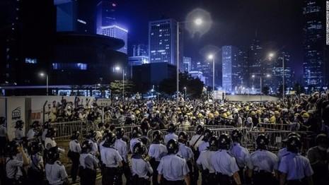 Biểu tình ở Hong Kong năm 2014.
