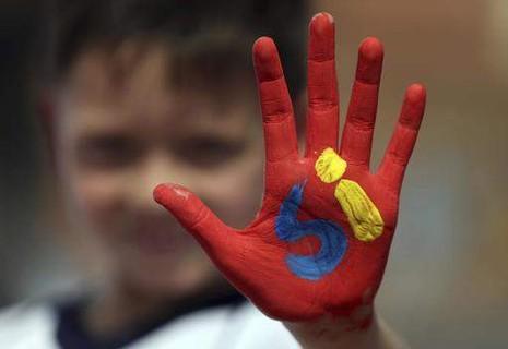 Colombia liệu sẽ có hòa bình như mong muốn của cậu bé này?