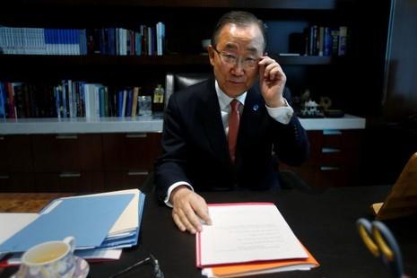 Tổng Thư ký LHQ Ban Ki-moon có thể sẽ tranh cử tổng thống Hàn Quốc nhiệm kỳ tới.