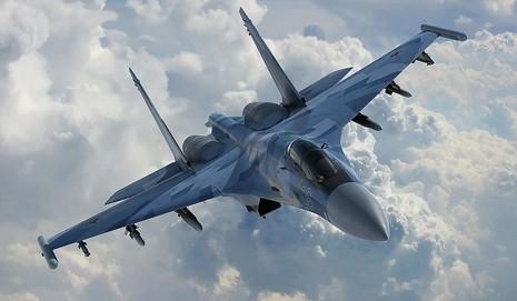 Máy bay chiến đấu Sukhoi Su-35 của Nga.