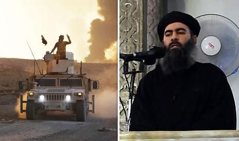 Có thông tin Al-Baghdadi đang bị bao vây ở Mosul.
