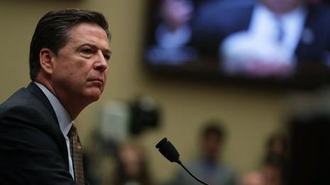 Giám đốc FBI điều trần trước Quốc hội ngày 7-7—2016.