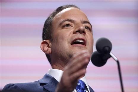 Chủ tịch đảng Cộng hòa Reince Priebus được chọn làm Chánh Văn phòng Nhà Trắng.