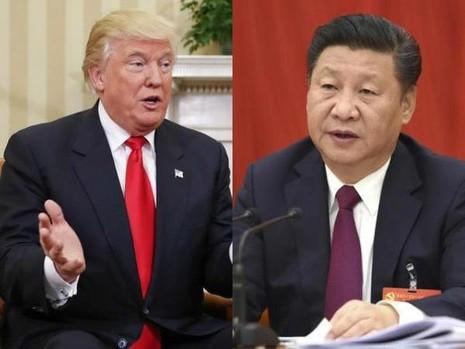 Tổng thống đắc cử Mỹ Donald Trump (trái) và Chủ tịch Trung Quốc Tập Cận Bình thống nhất cùng hợp tác trong quan hệ hai nước.