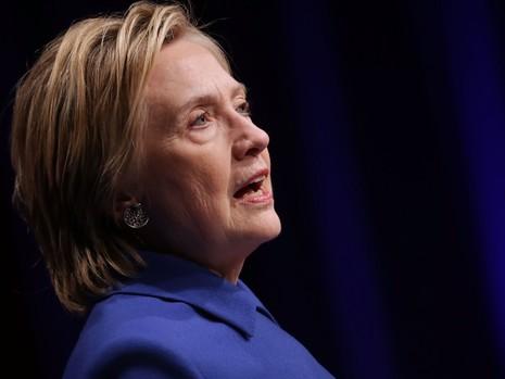 Bà Clinton thừa nhận đang cố gắng lấy lại tinh thần sau thất bại.