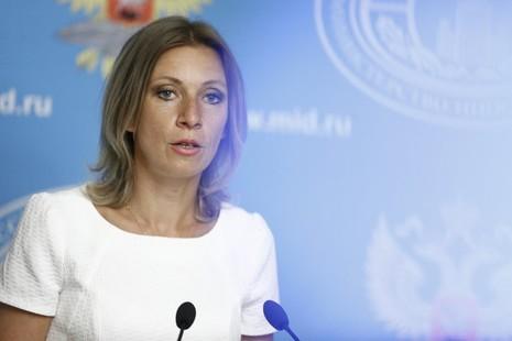Người phát ngôn Bộ Ngoại giao Nga Maria Zakharova. Ảnh: AP