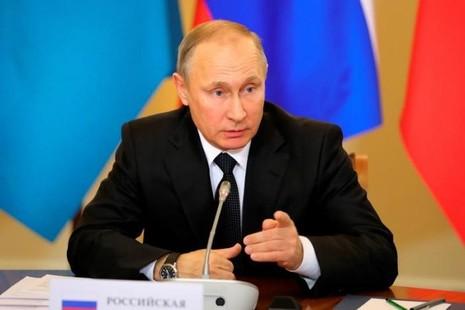Tổng thống Nga Putin quyết định không trục xuất các nhà ngoại giao Mỹ. Ảnh: REUTERS