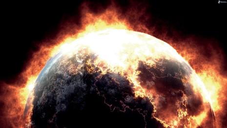 Trái đất sẽ diệt vong trong năm 2017? Ảnh minh họa từ INTERNET