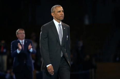 Tổng thống Barack Obama sắp mãn nhiệm kỳ, rời lại chiếc ghế tổng thống Mỹ cho người kế nhiệm Donald Trump. Ảnh: REUTERS