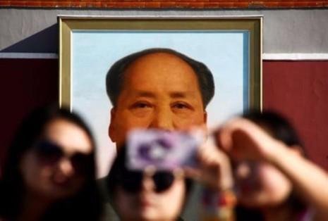 Hình ảnh cố Chủ tịch Trung Quốc Mao Trạch Đông ở quảng trường Thiên An Môn (Bắc Kinh, Trung Quốc), tháng 9-2016. Ảnh: REUTERS