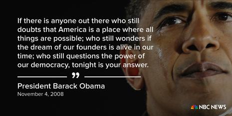 Những câu nói nổi tiếng của Tổng thống Obama - ảnh 1