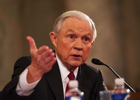 Ông Jeff Sessions có quan điểm bảo thủ về chủng tộc, người thiểu số, nhập cư Hồi giáo. Ảnh: SLATE