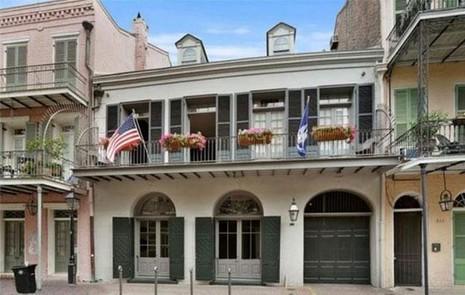 Ngôi nhà ở New Orleans mà Brag và Angelina đã bán sau khi chia tay nhau. Ảnh: REALTOR
