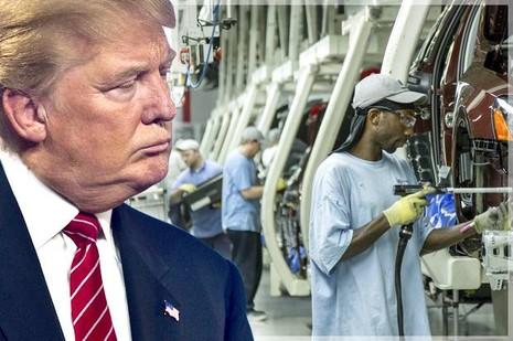 Bảo vệ việc làm của Mỹ là một cam kết tranh cử của ông Trump. Ảnh: SALON
