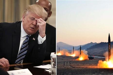 Vì không nhiều lựa chọn nên ông Trump sẽ phải kiên nhẫn với Triều Tiên. Ảnh: GETTY IMAGES