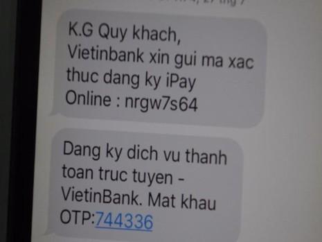 Cảnh giác: Giả nhân viên ngân hàng lừa lấy tiền từ thẻ ATM - ảnh 1