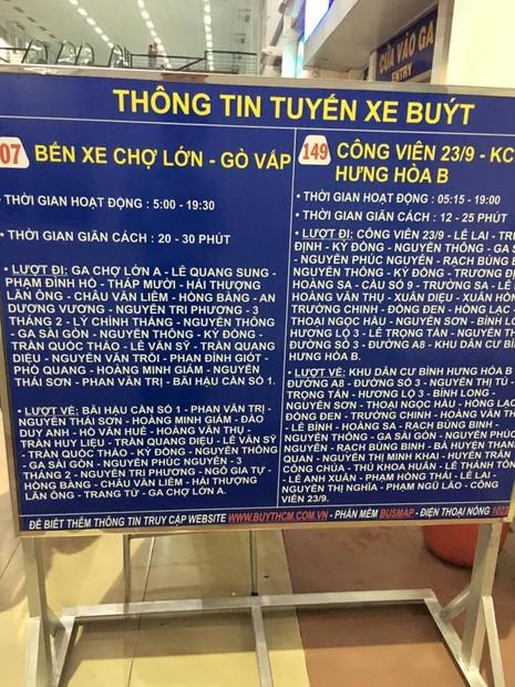 Thêm 2 tuyến xe buýt vào ga Sài Gòn phục vụ Tết - ảnh 2