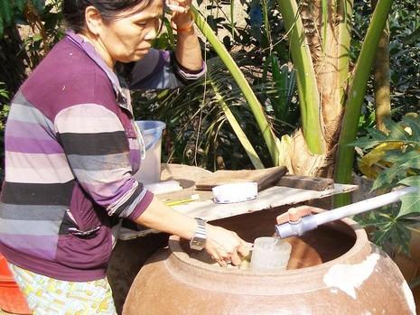 Hiện vẫn còn nhiều hộ dân ở huyện Bình Chánh (TP.HCM) dùng nước không an toàn