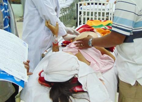 Sản phụ bị nhiễm trùng sau khi mổ ruột thừa - ảnh 1