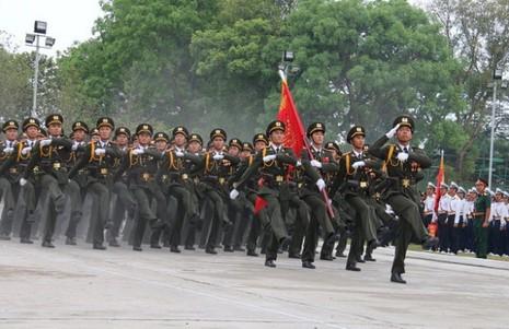 Hợp duyệt diễu binh kỉ niệm ngày 30-4 - ảnh 8
