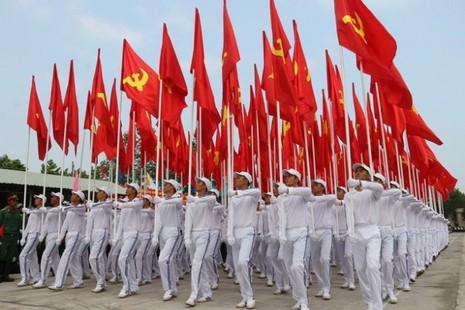 Hợp duyệt diễu binh kỉ niệm ngày 30-4 - ảnh 1