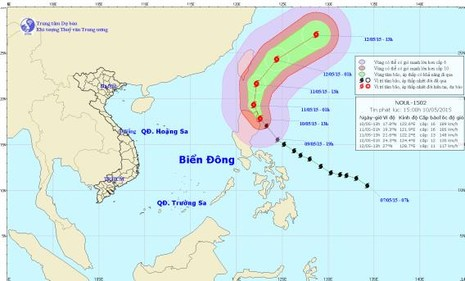Bão Noul mạnh lên thành siêu bão hướng vào Philippines - ảnh 1