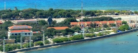 Ngắm toàn cảnh đảo Trường Sa lớn từ thủy phi cơ - ảnh 4