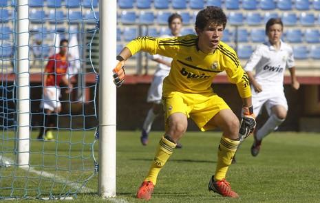 Đẩy ba quả 11 m, con trai Zidane giúp U17 Pháp vào chung kết - ảnh 1