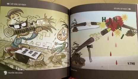 Ra mắt tuyển tập biếm họa 'Quan tham' - ảnh 2