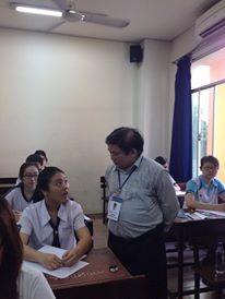 Kỳ thi THPT quốc gia 2015: Thí sinh bắt đầu thi môn đầu tiên  - ảnh 2