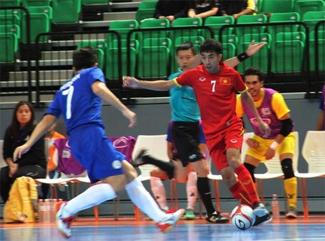 Tuyển Futsal Việt Nam thắng 19-1, giành vé dự VCK châu Á 2016 - ảnh 1