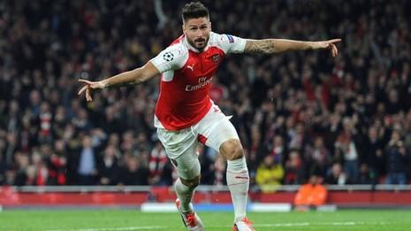 Giroud tỏa sáng giúp Arsenal đánh bại Bayern Munich - ảnh 1