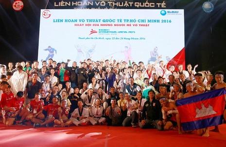 Bế mạc Liên hoan võ thuật quốc tế TP.HCM 2016 - ảnh 1