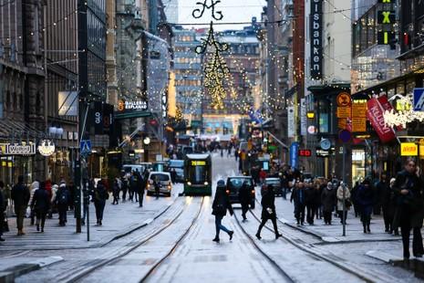 Chùm ảnh: Người dân Bắc Âu chào đón Giáng sinh 2016 - ảnh 14