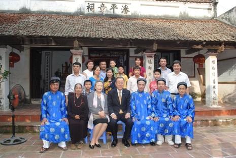 Tâm sự người chụp ảnh ông Ban Ki-moon tại nhà thờ họ Phan Huy - ảnh 1