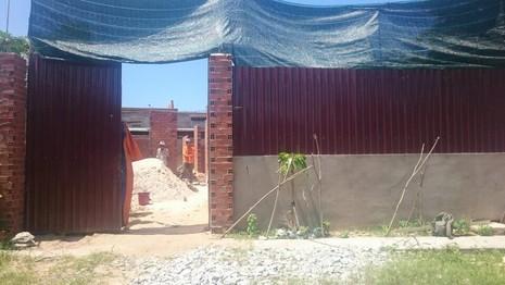 Công trình xây dựng không phép nhà ông T. Ảnh phường cung cấp