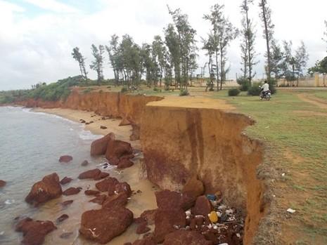 Quảng Nam: Sóng biển xóa sổ đường dân sinh, uy hiếp các hộ dân - ảnh 3