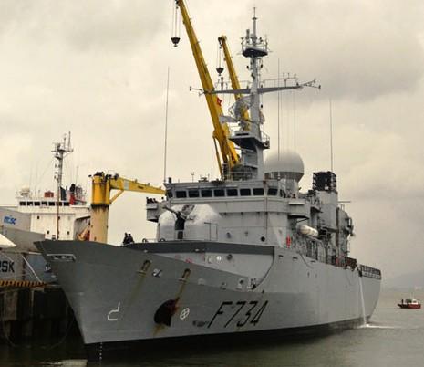Đà Nẵng: Hải quân Pháp và Việt Nam sẽ tham gia huấn luyện chung - ảnh 1