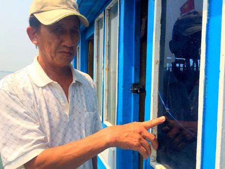 """Quảng Nam: """"Tàu Trung Quốc cố đâm vào tàu chúng tôi trước khi nã đạn"""" - ảnh 2"""