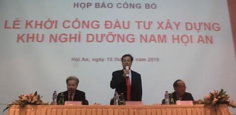 Quảng Nam: Triển khai dự án với tổng mức đầu tư 4 tỉ USD - ảnh 1