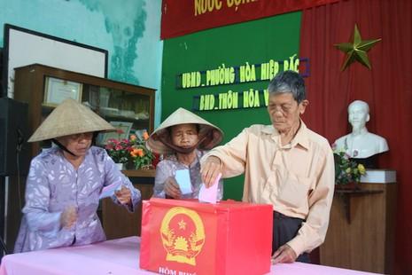 Đà Nẵng: Gửi 20.000 tin nhắn kêu gọi cử tri đi bỏ phiếu - ảnh 1